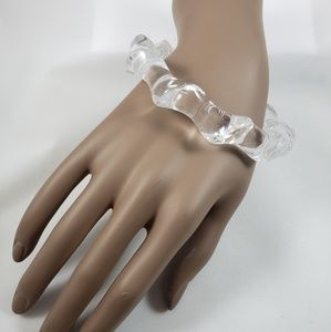 Jewelry - Clear Acrylic Bangle Bracelet